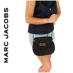 NWT Marc Jacobs quilted crossbody black